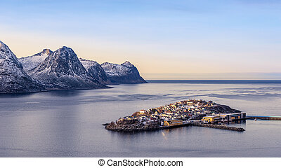 Fishermans Village - a small Fishermans Village in the north...