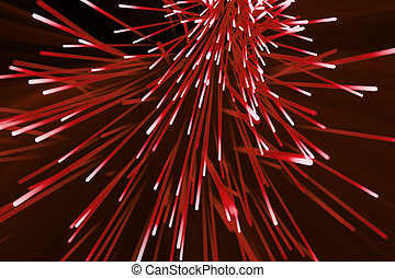 Abstract particles background, explosion with particles and...