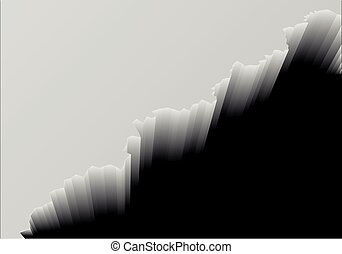 Deep Cliff Background - detailed illustration of a cliff...