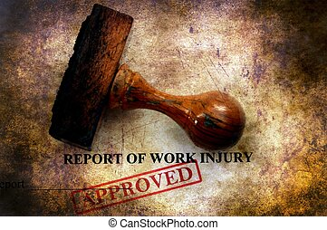 Report of work injury approved