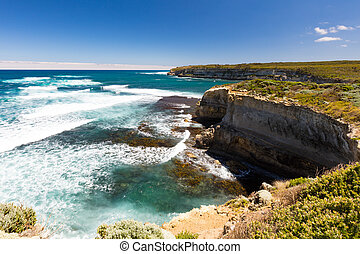 Port Campbell Coastline - Great Ocean Rd coastline at Port...