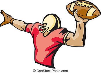 Football Clipart and Stock Illustrations. 102,710 Football ...