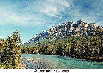 Castle Mountain Banff National Park