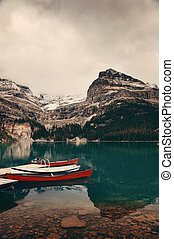 Yoho National Park - Lake O'hara, Yohu National Park with...