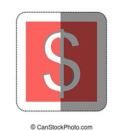 Dollar currency symbol icon