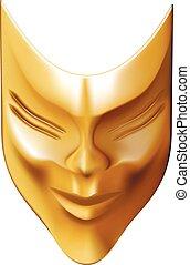 bronze mask.eps