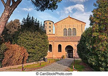 Ravenna, Italy: basilica of Sant'Apollinare in Classe -...