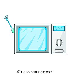 Videophone icon, cartoon style - Videophone icon. Cartoon...
