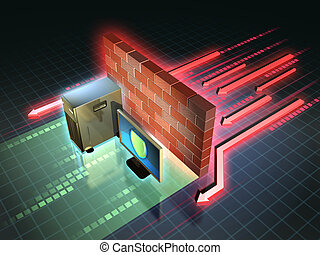 Firewall attack