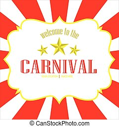 vector image carnival background