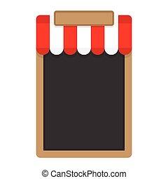 Blank frame for menu. Vector illustration