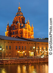 Uspenski Orthodox cathedral - Uspenski cathedral of Finnish...