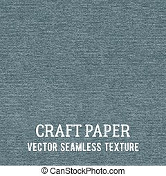 Craft paper seamless vector texture. Closeup of realistic...