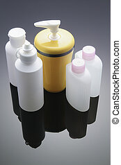 Toiletries with Reflection
