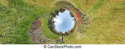Tunnel garden