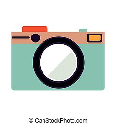 camera icon stock image, vector illustration design
