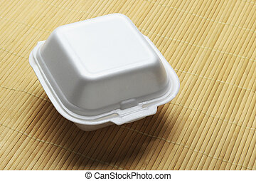 Styrofoam Takeaway Box - Styrofoam Takeaway Food Box on...
