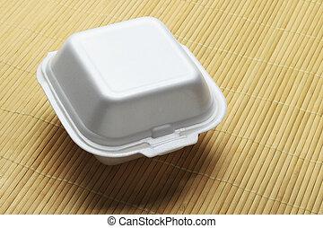 Styrofoam Takeaway Box - Styrofoam Takeaway Food Box on...