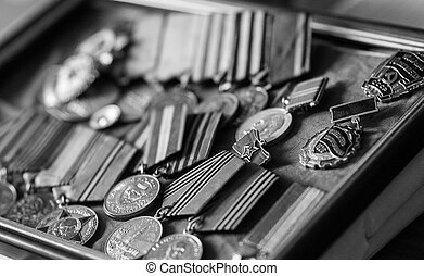 Medals veteran of World War II