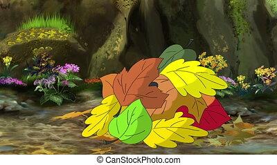 Hedgehog Wakes up in the Spring - Cute European Hedgehog...