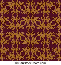 colored seamless pattern. Vintage elements. vector illustration