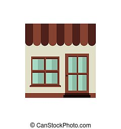 store icon stock image, vector illustration design