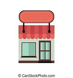 store icon stock image, vector illustration design