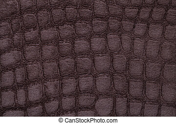 Brown background from soft upholstery textile material,...