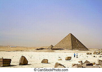 Egyptian Great Pyramids - Image of the Great Pyramids of...