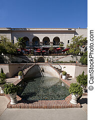 Courtyard at Restaurant in Balboa Park
