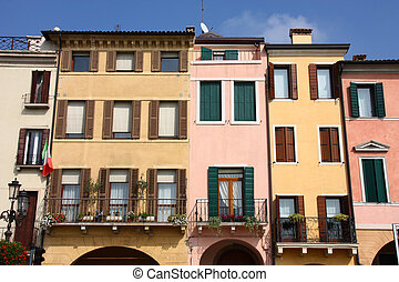 Padua - Beautiful mediterranean architecture in Padua, Italy...