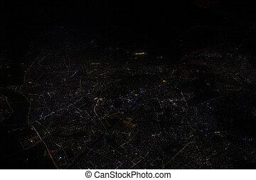 Delhi City - Aerial View of Delhi City, I captured this on...
