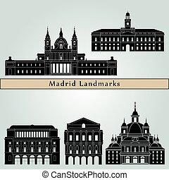 Madrid V2 Landmarks - Madrid V2 landmarks and monuments...
