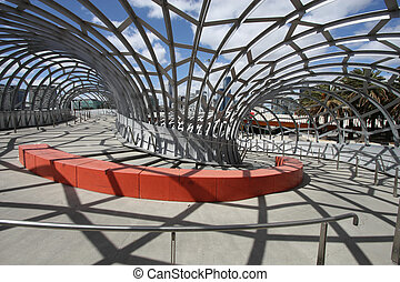Unique Structure - Melbourne - Unique Webb Bridge in...