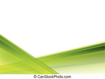 Bright green white gradient stripes abstraction