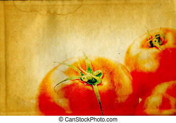 grunge vegetable background