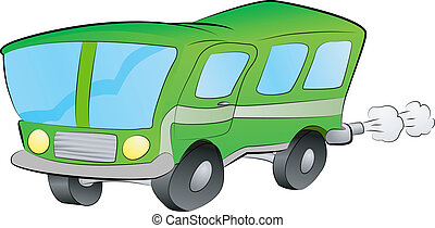 bus or coach illustration