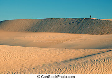 Amazing sand hill to adventure travel for summer trip -...