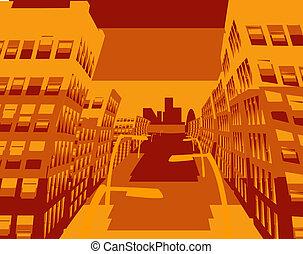 cool cityscape