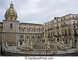 Piazza Pretoria - Palermo - Piazza Pretoria, o della...