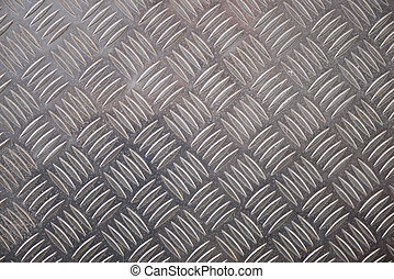Metal Checker Plate Pattern for Backgrounds - Metal checker...