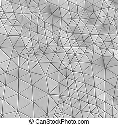 Abstract. geometric triangle background