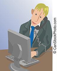 deskguy illustration