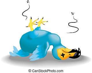 dodo illustration - a dead dodo
