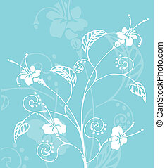 floral background - A Floral background