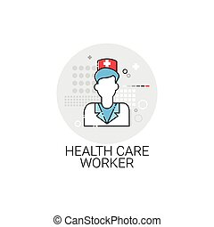 Health Care Worker Hospital Doctors Clinic Medical Treatment Icon