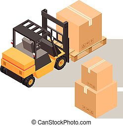 Loader with boxes icon1