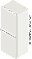 Isometric fridge icon