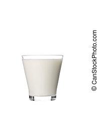 vidro, leite