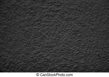 Black Dusty Scratchy Textured wall - Old vintage grunge...